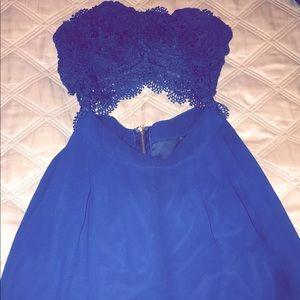 Fashion Nova Lace Jumpsuit
